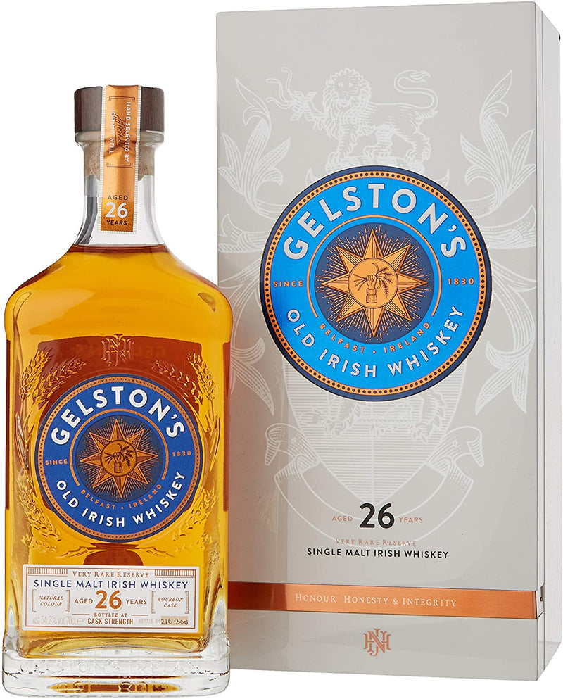 Gelston's 26 Year Old Single Malt Irish Whiskey - thedropstore.com