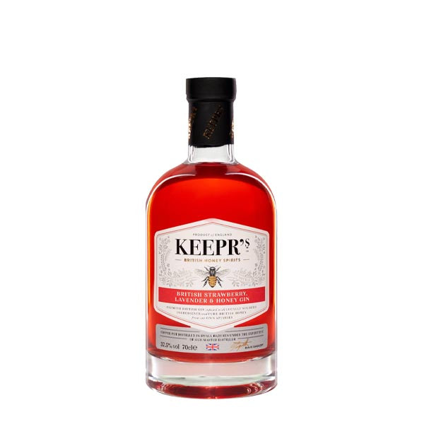 Keepr's Strawberry & Lavender Gin - thedropstore.com