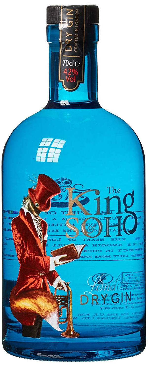 The King of Soho Gin - thedropstore.com