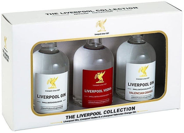 Liverpool Spirits Tasting Collection Gift Pack 3x5cl