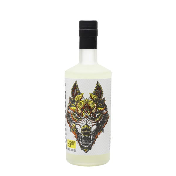 Lonewolf Cloudy Lemon Gin - thedropstore.com