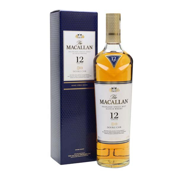 The Macallan 12 Year Old Double Cask Whisky - thedropstore.com