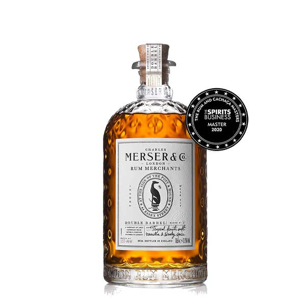 Merser Double Barrel Golden Rum - thedropstore.com