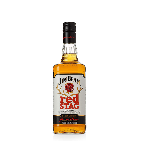 Jim Beam Red Stag Black Cherry Whiskey - thedropstore.com