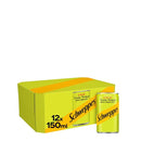 Schweppes Slimline Tonic Water with Lemon Zest Fridge Pack 12x150ml