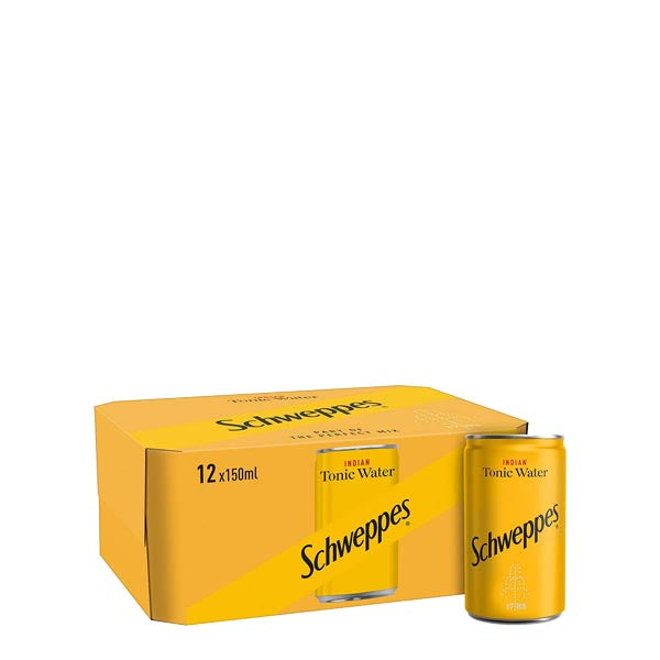 Schweppes Indian Tonic Water Fridge Pack 12x150ml