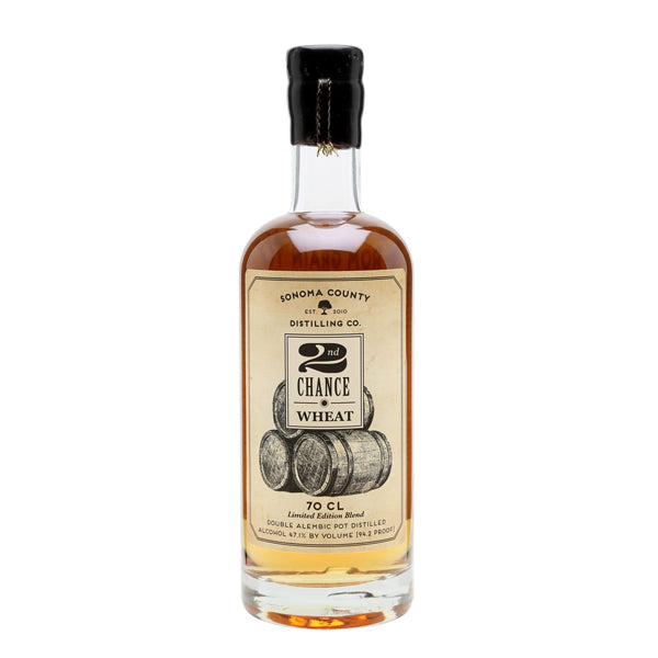 Sonoma County 2nd Chance Wheat Whiskey - thedropstore.com
