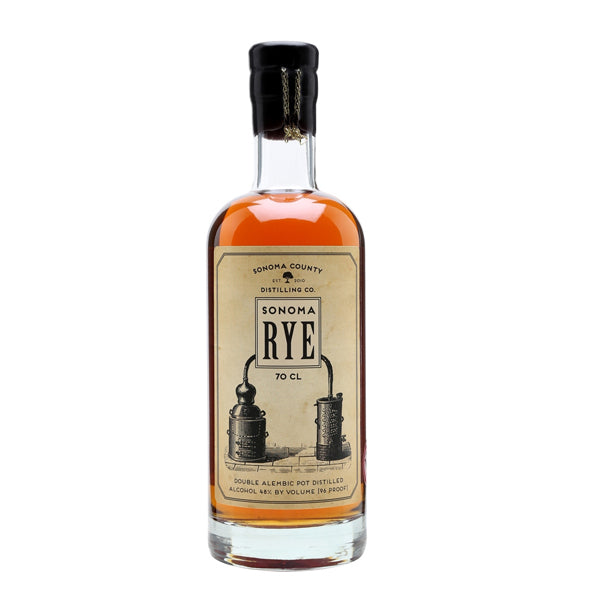 Sonoma County Rye American Whiskey - thedropstore.com