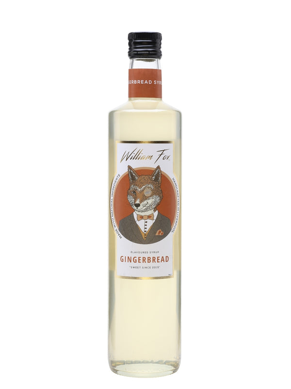 William Fox Gingerbread Syrup - thedropstore.com