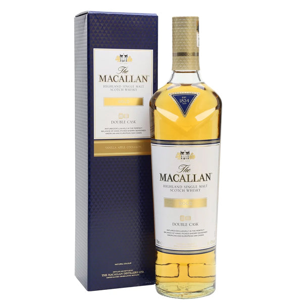 The Macallan Double Cask Gold Highland Single Malt Whisky - thedropstore.com