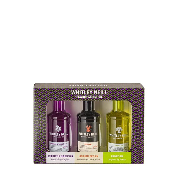 Whitley Neill Gin Tasting Pack 3x5cl