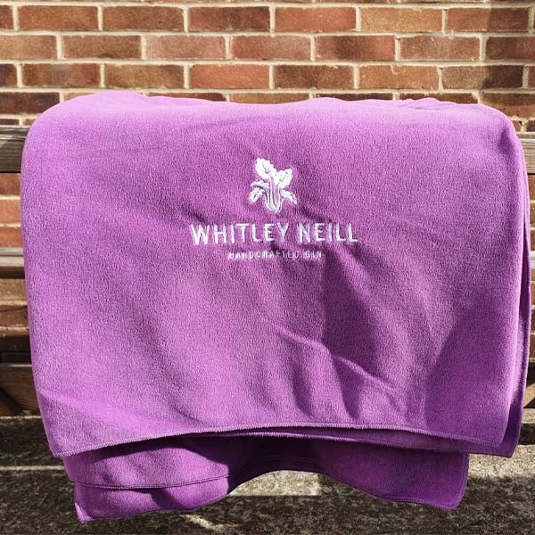 Whitley Neill Rhubarb & Ginger Blanket - thedropstore.com