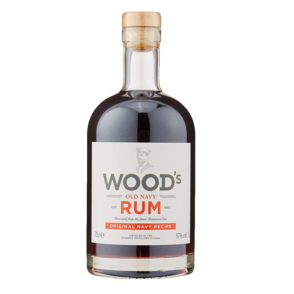 Woods Old Navy Rum - thedropstore.com