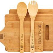 Bamboo Cutting Boards and Utensils
