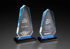 ACRYLIC AWARDS - Impress Reflection Series - Arrowhead - 4-1/2 inch x 7-3/4  inch or  4-1/2 inch x 8-3/4  inch