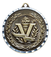 Victory Trophy Medals - Victory - 2 inch Medals diamond cut