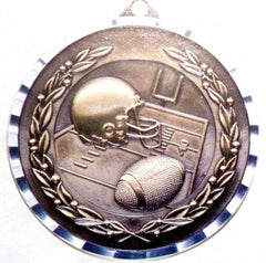 Victory Trophy Medals - Football - 2 inch Medals diamond cut