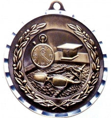 Victory Trophy Medals - Swimming - 2 inch Medals diamond cut