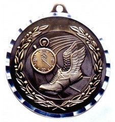 Victory Trophy Medals - Track - 2 inch Medals diamond cut