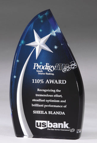Shooting Star Award Acrylic