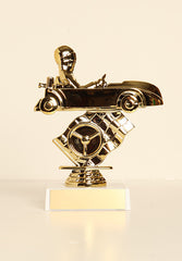 "Go Kart with Body Figure on Base 6"" Trophy"
