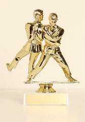 "Female Judo / Double Figure on Base 6"" Trophy"