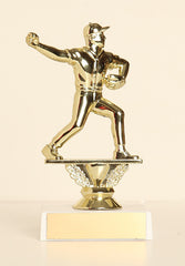 "Baseball Pitcher Figure on Base 6"" Trophy"