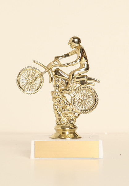 "Dirt Bike Scramble Figure on Base 6"" Trophy"