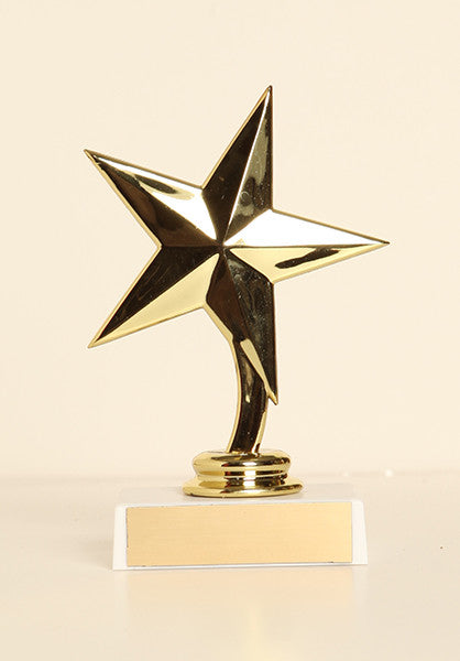 "Star Figure on Base 6"" Trophy"