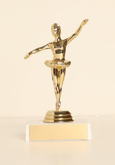 "Ballerina Figure on Base 6"" Trophy"