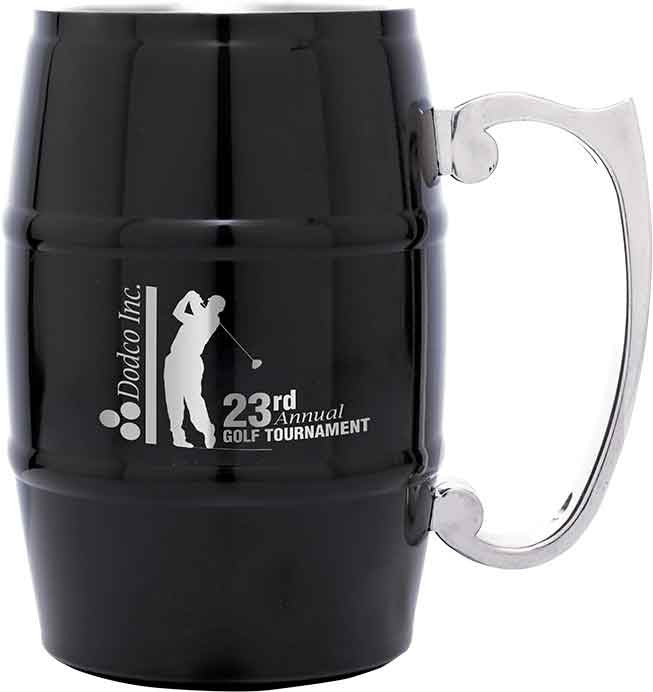Barrel Mug with Handle
