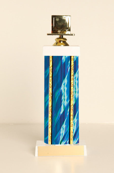 Computer Square Column Trophy