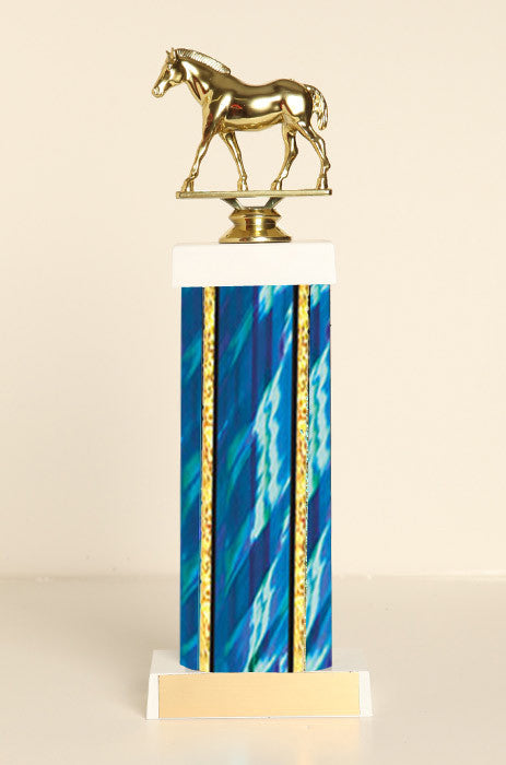 Quarter Horse Square Column Trophy