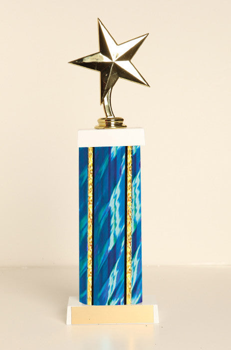 Star Square Column Trophy
