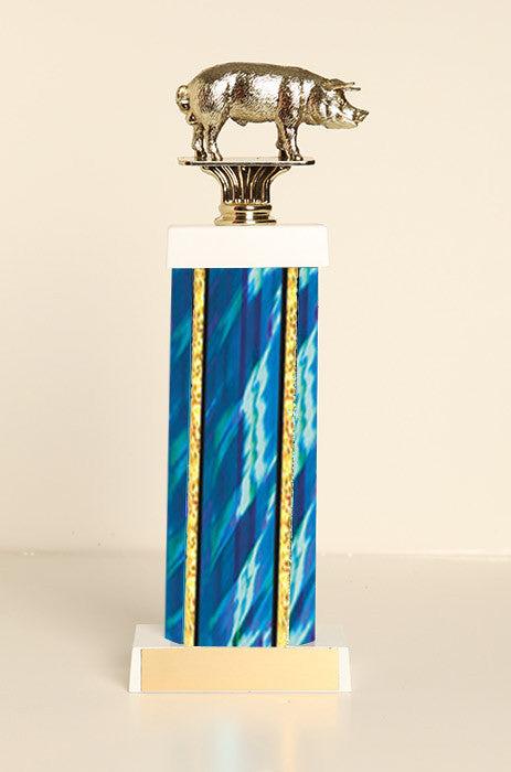 Hog Square Column Trophy