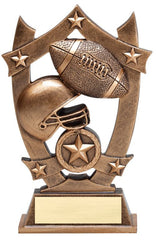 6-1/4 inch Tall Resin sculpture - Football