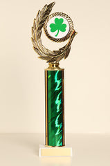 St. Patrick's Day Tube Trophy