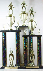 2 Post Wrestling Trophies