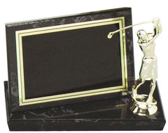 Black Marble Finish Billboard Plaque