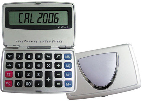 Calculator, 12 Digit Electronic