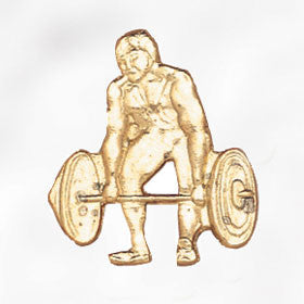 Sports and Chenille Pins - Weightlifter