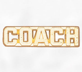 Sports and Chenille Pins - Coach
