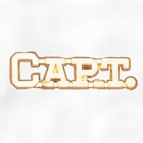 Sports and Chenille Pins - Capt