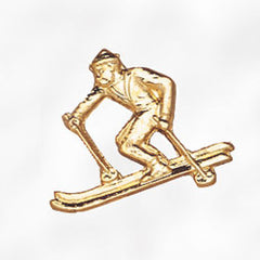 Sports and Chenille Pins - Skier Male