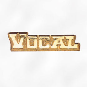 Sports and Chenille Pins - Vocal