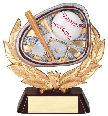 Stamford Series Resin Baseball 5-1/2  inch