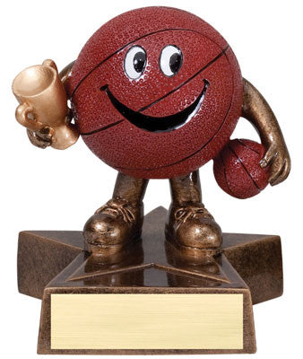 Little Buddy Basketball Resin 4-1/2  - Economical Participant Award!