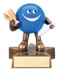 Little Buddy Bowling Resin 4-1/2  - Economical Participant Award!
