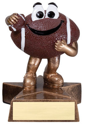 Little Buddy Football Resin 4-1/2  - Economical Participant Award!