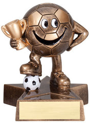 Little Buddy Soccer Resin 4-1/2  - Economical Participant Award!
